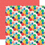 It's Your Birthday Boy: Birthday Boy Party Fans 12x12 Patterned Paper