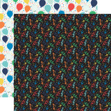 It's Your Birthday Boy: Boy Confetti 12x12 Patterned Paper