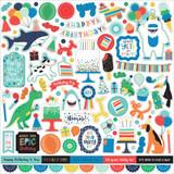 It's Your Birthday Boy: Element Sticker