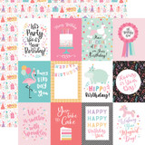 It's Your Birthday Girl: 3X4 Journaling Cards 12x12 Patterned Paper