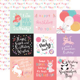 It's Your Birthday Girl: 4X4 Journaling Cards 12x12 Patterned Paper