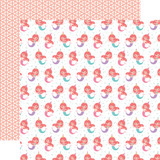 It's Your Birthday Girl: Mermaid Party 12x12 Patterned Paper