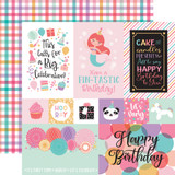 It's Your Birthday Girl: Multi Journaling Cards 12x12 Patterned Paper