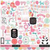 It's Your Birthday Girl: Element Sticker