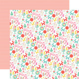 Let's Party: Party Time 12x12 Patterned Paper