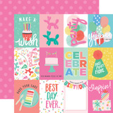 Let's Party: 3X4 Journaling Cards 12x12 Patterned Paper