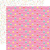 Let's Party: Cupcake Celebration 12x12 Patterned Paper