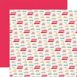 Let's Travel: Tourist Class 12x12 Patterned Paper