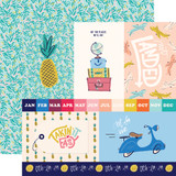 Let's Travel: 4x6 Journaling Cards 12x12 Patterned Paper