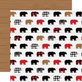 Little Lumberjack: Exploring 12x12 Patterned Paper