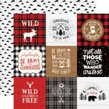 Little Lumberjack: 4X4 Journaling Cards 12x12 Patterned Paper