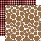 Little Lumberjack: Be Brave  12x12 Patterned Paper