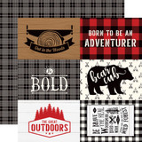 Little Lumberjack: 4X6 Journaling Cards 12x12 Patterned Paper
