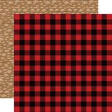 Little Lumberjack: Buffalo Plaid 12x12 Patterned Paper
