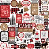 Little Lumberjack: Element Sticker Sheet