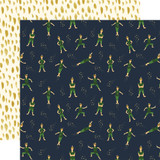 Lost In Neverland: Peter Pan 12x12 Patterned Paper