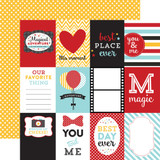 Magical Adventure: 3x4 Journaling Cards 12x12 Patterned Paper