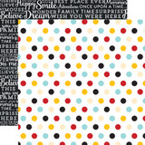 Magical Adventure: Multi Dots 12x12 Patterned Paper