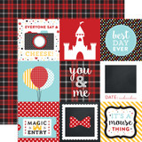 Magical Adventure: 4x4 Journaling Cards 12x12 Patterned Paper