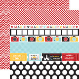 Magical Adventure: Border Strips 12x12 Patterned Paper