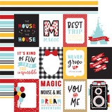 Magical Adventure 2: 3x4 Journaling Cards 12x12 Patterned Paper