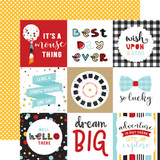 Magical Adventure 2: 4x4 Journaling Cards 12x12 Patterned Paper