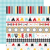 Magical Adventure 2: Border Strips 12x12 Patterned Paper