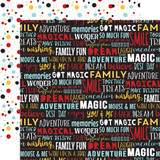 Magical Adventure 2: Dream Big Words 12x12 Patterned Paper