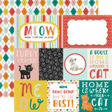 Meow: Journaling Cards 12x12 Patterned Paper