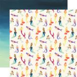 Mermaid Dreams: Mystic Mermaids 12x12 Patterned Paper