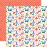 Mermaid Dreams: Make Waves 12x12 Patterned Paper