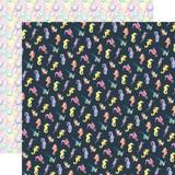 Mermaid Dreams: Seahorses 12x12 Patterned Paper