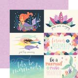 Mermaid Dreams: 6x4 Journaling Cards 12x12 Patterned Paper