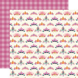Mermaid Dreams: Shell Crowns 12x12 Patterned Paper