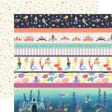 Mermaid Dreams: Border Strips 12x12 Patterned Paper