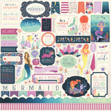 Mermaid Dreams: Element Sticker Sheet