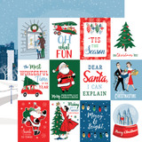 Merry Christmas: 3x4 Journaling Cards 12x12 Patterned Paper