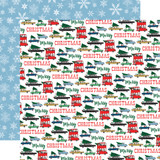 Merry Christmas: Tree Shopping 12x12 Patterned Paper