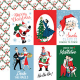 Merry Christmas: 4x6 Journaling Cards 12x12 Patterned Paper