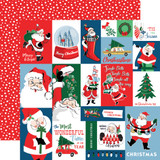 Merry Christmas: Christmas Squares 12x12 Patterned Paper