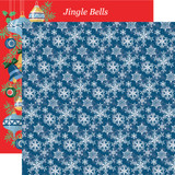 Merry Christmas: Snowflakes 12x12 Patterned Paper