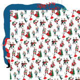 Merry Christmas: Christmas Prep 12x12 Patterned Paper