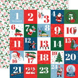 Merry Christmas: Countdown to Christmas 12x12 Patterned Paper
