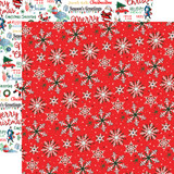 Merry Christmas: Christmas Snow 12x12 Patterned Paper