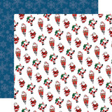 Merry Christmas: Jolly Santa Claus 12x12 Patterned Paper