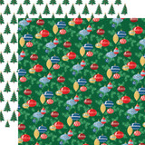 Merry Christmas: Ornaments 12x12 Patterned Paper