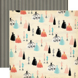 Metropolitan Girl: Fancy Couture 12x12 Patterned Paper