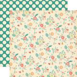 Metropolitan Girl: City Flowers 12x12 Patterned Paper