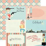 Metropolitan Girl: 4x6 Journaling Cards 12x12 Patterned Paper