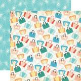 Metropolitan Girl: Let's Shop 12x12 Patterned Paper